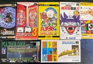 Jogos Super Nintendo JAP