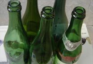 Garrafas de Champagne p/ Engarrafar - Óptimo Vidro