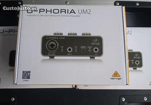 Behringer U-Phoria UM2 novo por estrear envio