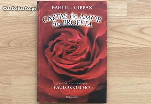 Livro Kahlil Gibran Cartas de amor do profeta
