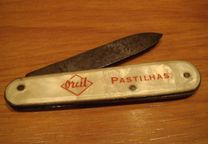 mini canivete antigo coleçao publicidade