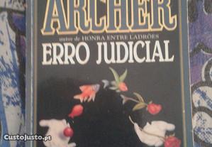 Erro Judicial. Jeffrey Archer