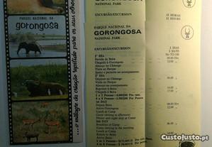Parque Nacional da Gorongosa - Folheto e programas