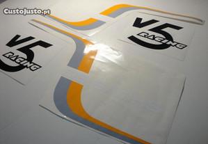 Autocolantes sachs v5 racing top racing kit