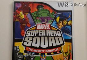 Jogo Wii Marvel super hero squad