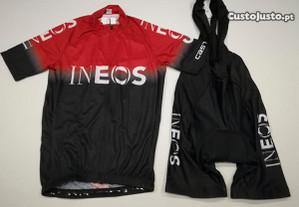 Equipamento Ciclismo INEOS
