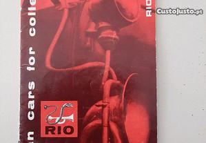 Miniaturas carros catálogo Rio