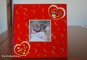 Molduras para fotos namorados/casados 14,5x14,5cm
