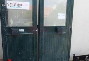 Porta janelas, janelas c/respirador ideal p/Montra