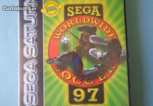 Jogo Sega Saturn - Sega Worldwide Soccer 97