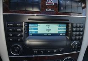 Radio com cd mercedes c 220 cdi 2005 (203)