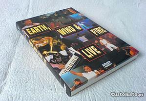 DVD de Earth Wind and Fire em concerto