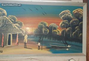 Pintura Tradicional - Motivo Angola 1972