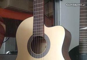 Guitarra clássica eletrificada Cort AC120CE OP