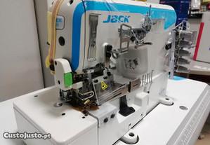 Máquina 3 agulhas colaretes JACK W4 - Nova