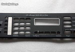 painel teclado impressora HP Officejet 5610