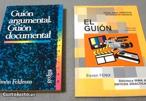 Guionismo - Cinema, Vídeo, Documentário (2 livros)