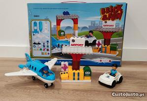 aeroporto legos com aviao