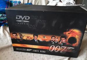Coleção RARA Filmes DVD James Bond 007