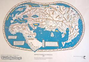 Cartografia antiga da Europa e do Mundo. Portes gr