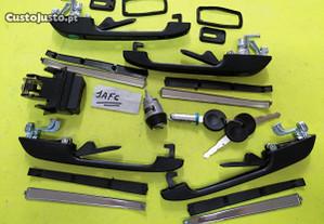 Kit de fechos das portas com chaves Vw Golf Mk2