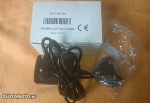 Carregador original Blackberry c/ adaptador UK