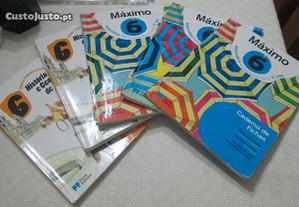 Livros escolares-6ºano