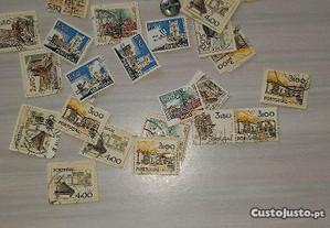24 selos usados