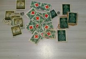 26 selos usados