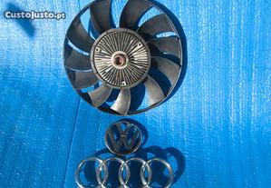 ventoinha radiador audi A4 vw passat b5 96 a 2004