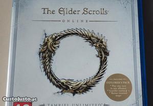 Jogo PS4 - The Elder Scrolls Online Tamriel Unlimi