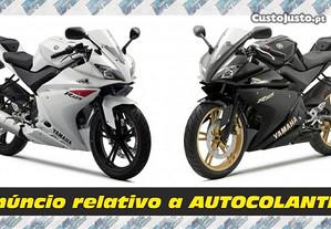 Autocolantes Yamaha YZF 125R - 2010