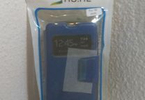 Capa Carteira Nova p/ Nokia Lumia 430 Azul