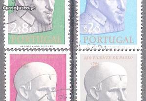 Selos Afinsa 912 a 915 Serie Completa