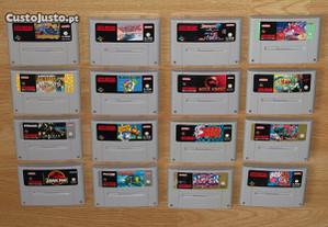 Super Nintendo: Jogos (apenas o cartucho) PAL