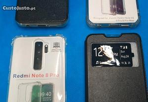 Capas Xiaomi Redmi Note 8 Pro e Xiaomi Redmi Note 9 Pro