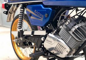 Autocolantes SIS - Sachs Motozax - Dourado