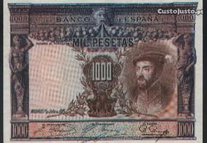 Espadim - Nota de 1.000 Pesetas de 1925 - Espanha