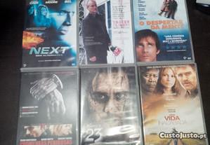 6 filmes DVD novos.