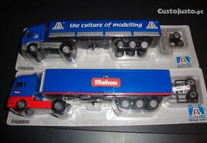 2 camiões 1/87