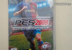 Jogo PSP - PES Pro Evolution Soccer 2009
