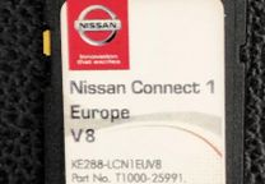 Cartao GPS Nissan - Europe