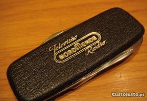 canivete antigo pub. normende radio e televisao