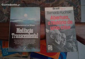 Obras de Lawrence le Shan e Bernardo Kucinski