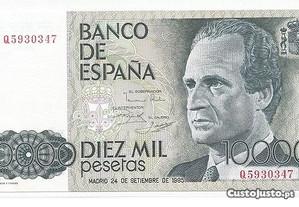 Espadim - Nota de 10.000 Pesetas de 1985 - Espanha