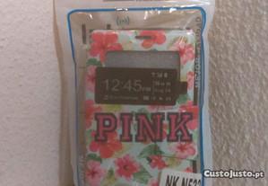 Capa Carteira Nova p/ Nokia Lumia 532 Pink