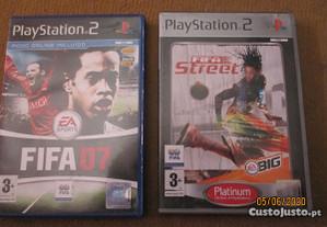 2 Jogos PlayStation 2 - FIFA Street e FIFA 07