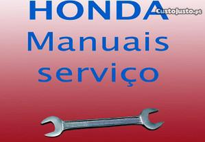 Honda manuais de serviço