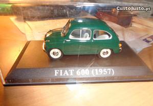 Carro Miniatura Fiat 600 1957 Oferta Envio