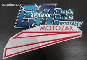 Autocolantes SIS - Sachs Motozax - Vermelho
